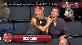 キスカム Kiss Cam Compilation - Best of 2018 - Fails, Wins, and Bloopers