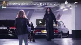 JIGSAW&Ultimate Elevator Prank(IbraTV)海外 イタズラ ドッキリ