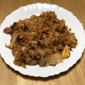 レッツ・クッキング(キムマヨチャーハン&フライドポテト)
