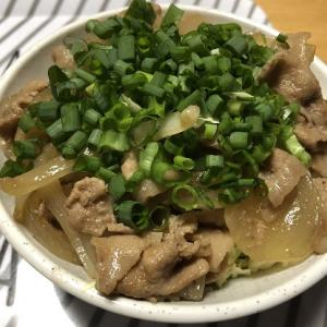 レッツ・クッキング(スタミナ豚玉丼)