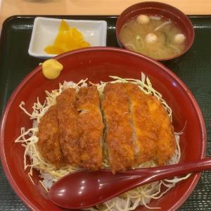 【東京餃子食堂】ソースカツ丼美味し