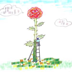 「植木屋さんだって植物に詳しいとは限らない」アート芸術系4コマ漫画「美観の人々」と童画 秋野あかね美術館