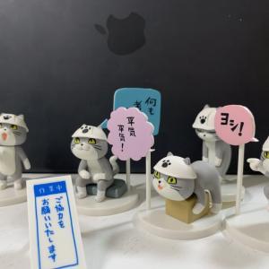 【現場猫】仕事猫フィギュアガチャ全5種類コンプの図【ただしシークレットは無し】