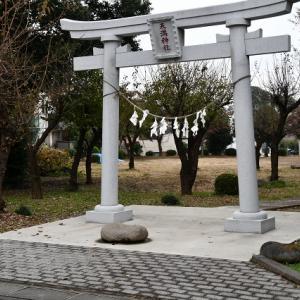 天満神社の力石