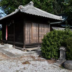 卯之助銘 飯塚神社の力石