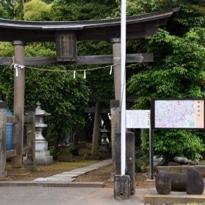 力石-穂積神社(さいたま市)