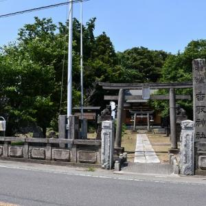 力石-下吉羽の香取神社(幸手市)