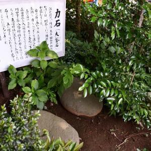 力石-東沼神社(川口市)