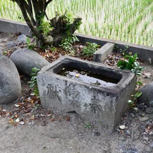 力石-八幡神社(さいたま市西区)