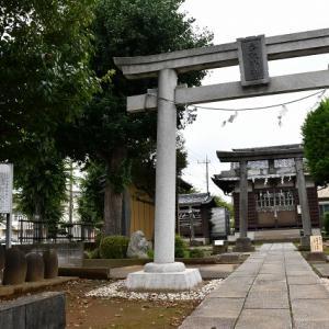 力石 - さぎしろの香取神社(越谷市)