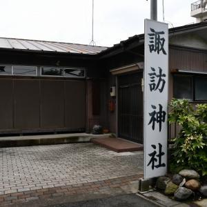 力石 - 南荻島の諏訪神社(越谷市)