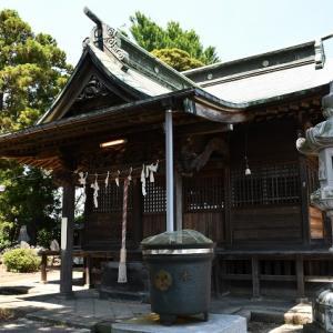 越谷市西新井 石神井神社