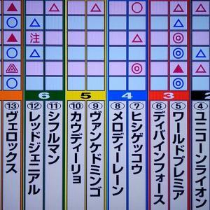 10/20 菊花賞デ-タ・最終勝負