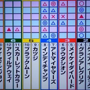 11/22 マイルチャンピオンシップ・狙い馬・最終勝負