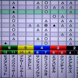 12/6 チャンピオンズC 枠順確定