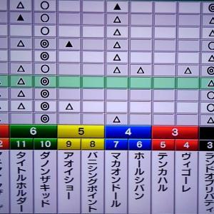12/26 ホープフルS・狙い目・最終勝負