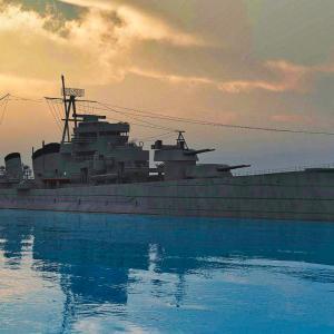 <CGモデリング>大日本帝国海軍 重巡洋艦「青葉」~Vue進水~