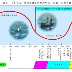 <大航海新説>寒冷化「気候変動」が原因となり『大航海時代』が始まった(新説『大航海時代』)
