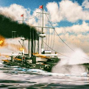 <CG>「戦艦三笠 日本海海戦」 ~NHK大河『坂の上の雲』から~