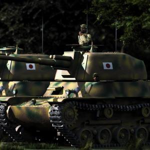 <CG>「本土決戦 ~四式中戦車に搭乗する司馬遼太郎~」