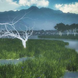 <CG>『釧路湿原』~ブラタモリ 釧路湿原の回生と摩周湖の霧~