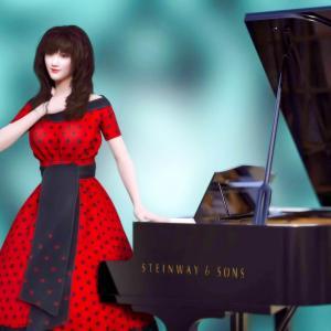 <CG>ピアニスト 美鈴(メイリン) ~日本待望の新人ピアニスト~