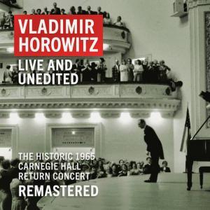 <CD>『ザ・グレイト・カムバック~ホロヴィッツ・アット・カーネギー・ホール』(1965年5月9日)
