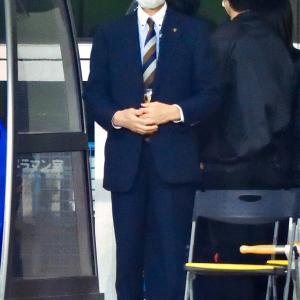 <写真>(株)ベガルタ仙台・社長「菊池秀逸」氏 ~この試合も道渕が先発してました~