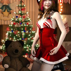 <CG>「メリー・クリスマス」宇佐美 ~コロナ禍での異例のクリスマス~