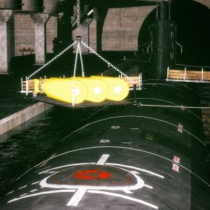 <CG>「3発の核爆弾を積み込む米原潜」 ~地震津波兵器(HARRP)~