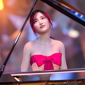 <CG>「ピアノを演奏する宇佐美ちゃん」 ~ベートーヴェン・ピアノソナタ「月光」~
