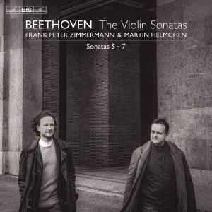<CD>『ベートーヴェン: ヴァイオリン・ソナタ第5番-第7番』 ~フランク・ペーター・ツィンマーマン、マルティン・ヘルムヒェン~