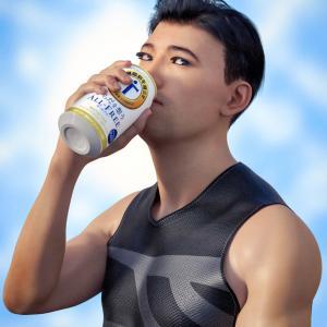 <CG>『ノンアルコールビール』 ~健康志向が人類にとっての世界的トレンドになりつつある~