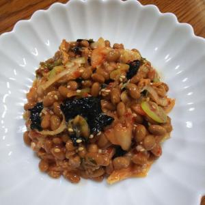 #96 キムチ納豆