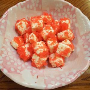 #97 クリームチーズの明太子和え
