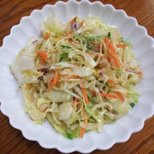 #143 ごま油と醤油のおつまみサラダ
