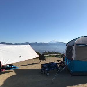 ほったらかしキャンプ場 ダイノジサイト2