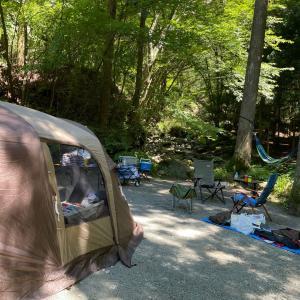 キャンプ1日目