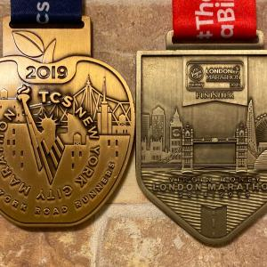 ロンドンマラソンのメダルに賛否