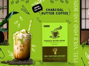 チャコールバター緑茶コーヒーを買って飲んでみた!そのお味は?