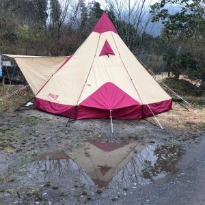 【三日月の滝温泉オートキャンプ場】九州年越しキャンプ⑤