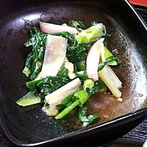 分葱のヌタと琉球丼