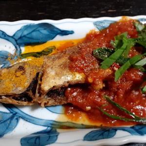 アジのカレー南蛮と豚生姜焼きの作り方