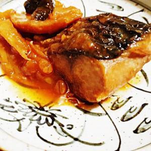 朝の定番・サバの味噌煮