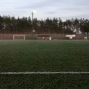 パープルチーム、紅白戦から始動!(U-13サッカー)
