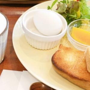 倉敷市茶屋町の「グリーンビーンズカフェ」のモーニングはドリンク+100円から♪