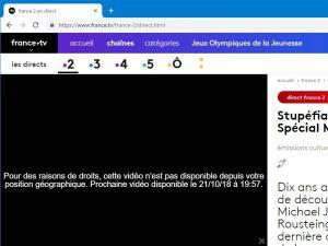 フランスの地上波放送を日本からネットで見る