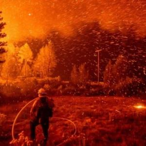 カリフォルニア山火事