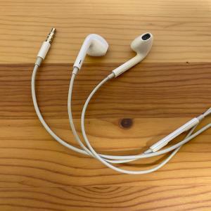 EarPodsがテレワークで大活躍!パソコンにiPadにiPhone付属イヤホンで十分!