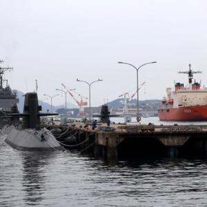 南極観測船「しらせ」呉入港